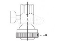 Sloan SH-1007-A Ball Joint Coupling Assembly (with Volume Control)
