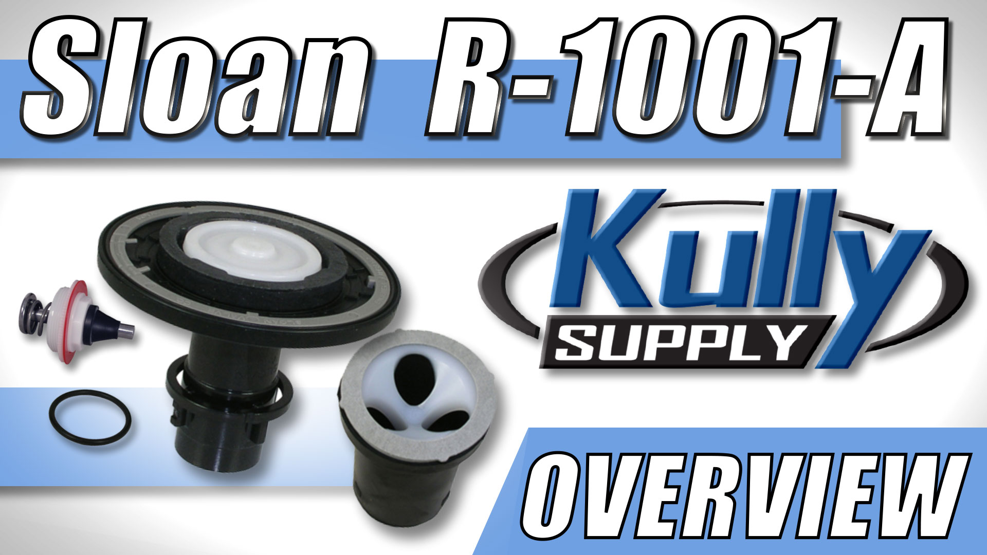 Overview Video: Sloan (R-1001-A) Regal Toilet Rebuild Kit 4.5 GPF