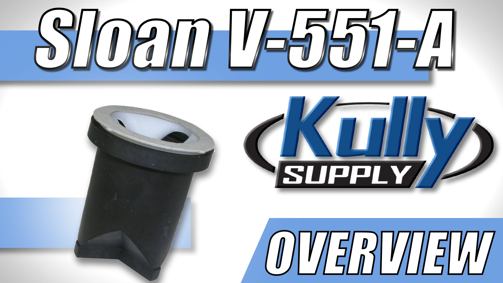Overview Video: Sloan Vacuum Breaker Repair Kit (V-551-A)